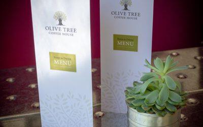 Olive Tree Tearooms Menus