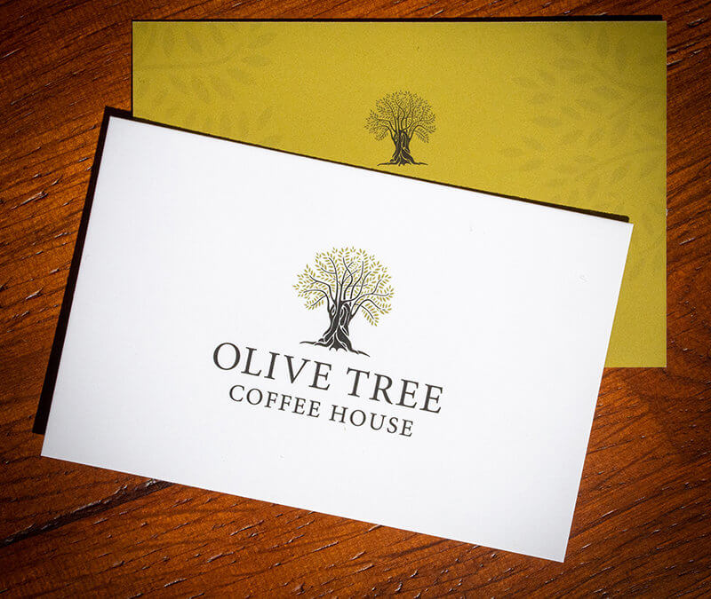 Olive Tree Lowestoft Business Cards