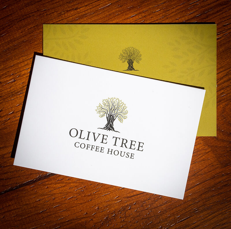 Olive Tree Business Cards