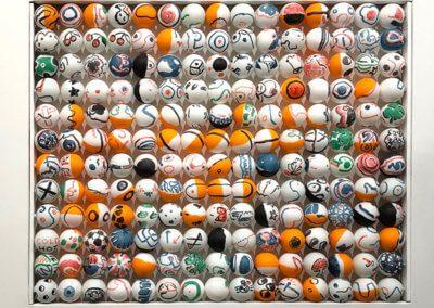 Tension Fine Art Cell Grafitti Balls