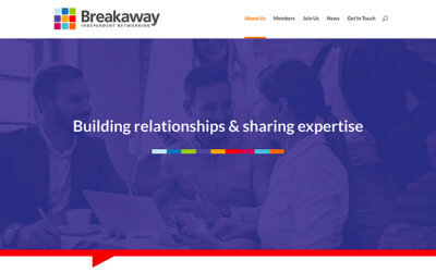 New website for Breakaway East