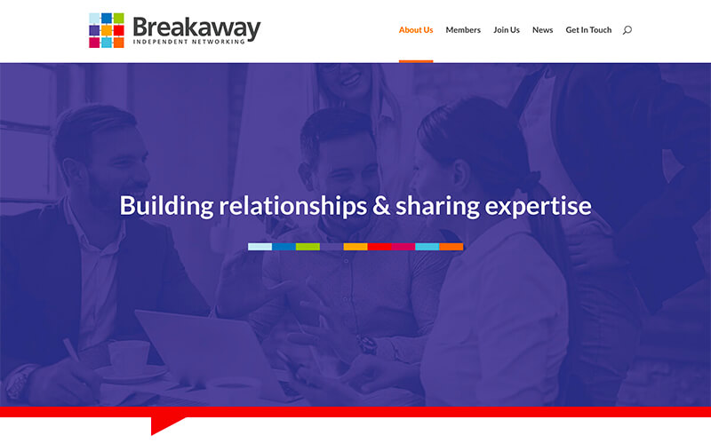 Breakaway East Website Preview