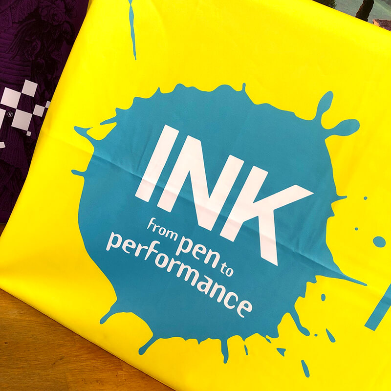 Ink Festival Branded Table Covers & Runners