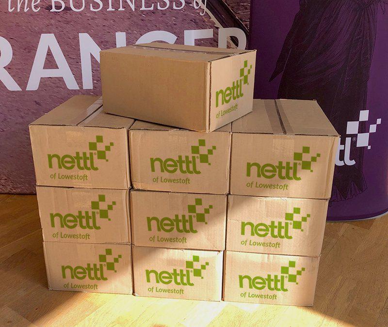 Nettl of Lowestoft boxes of bulk flyers