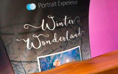 We're just loving the Portrait Experience branded table