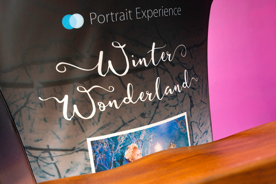 Photograph of the Portrait Experience branded Mojito table