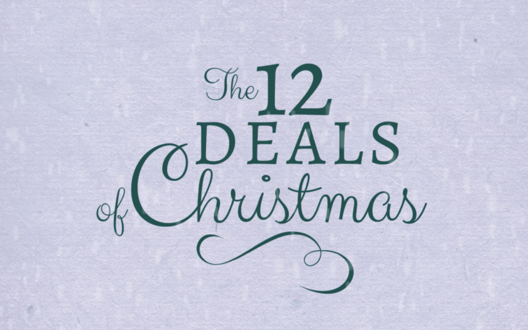 The 12 Deals of Christmas promo banner