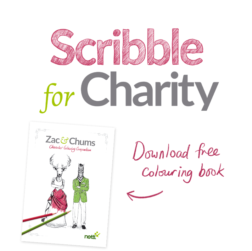 Scribble for Charity